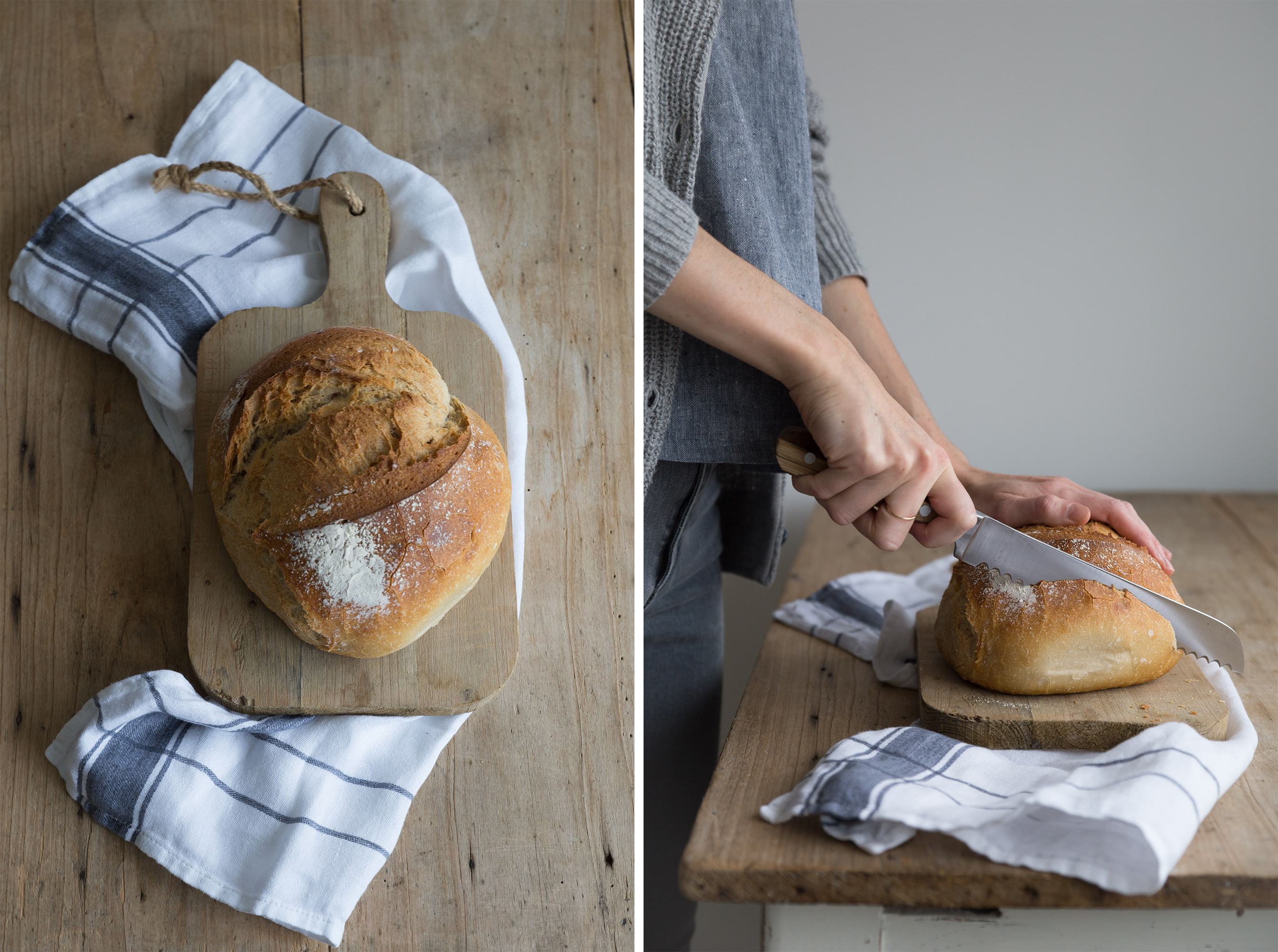 fresh bread, mindfulness, slow living