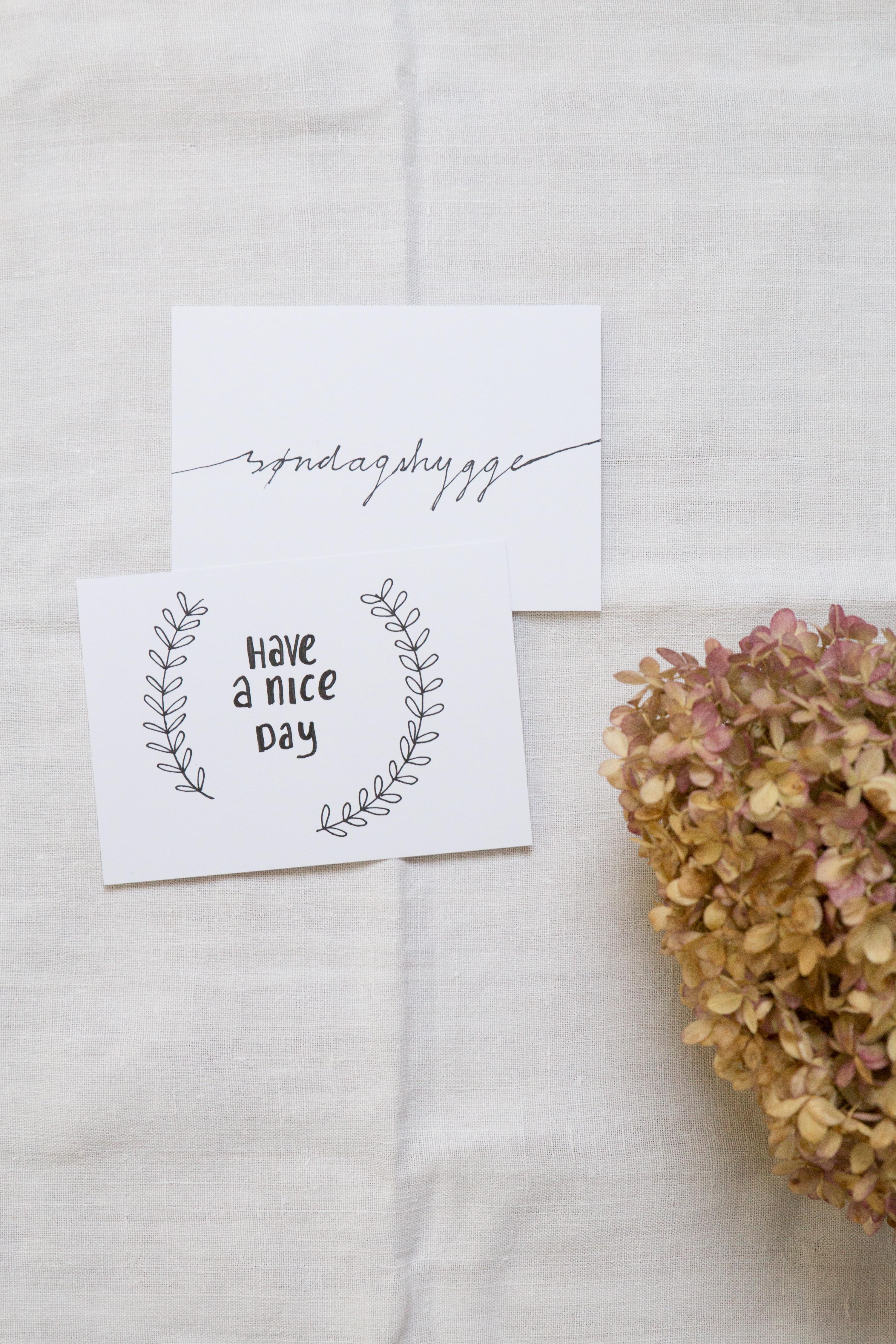 handlettering how to hand letter that sunday feeling blog